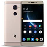 LeEco | Letv Le S3 Pro X626 Smartphone (FHD 4G, 13.97cm(5,5 Zoll), 1920X1080P, 4GB RAM 32GB ROM, Android,Deca-Core CPU) - Golden