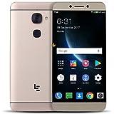 Smartphone, LESHP LeEco X626 Celular para Android Deca-Core CPU 4GB RAM 5.5 pulgadas FHD UE Enchufe