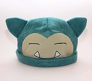 HiRudolph Pokemon Snorlax Cosplay Soft Cute Plush Toy Cap Warm Soft Hat