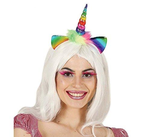 Fiestas Rudy Diadema Unicornio arcoíris,, 13049