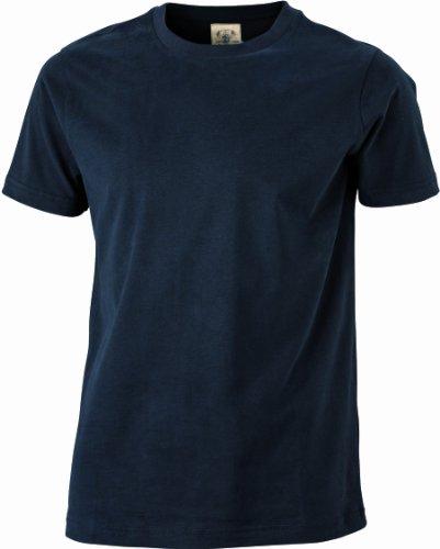 James & Nicholson Herren Langarmshirt T-Shirt Men's Vintage Black