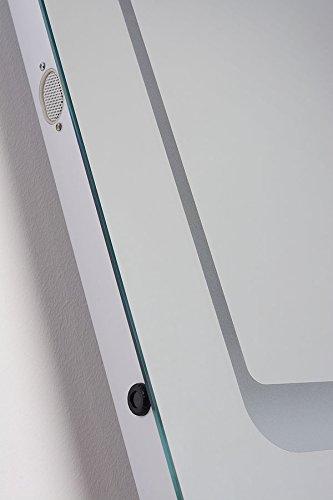 MY-Furniture ICON beleuchteter LED Bluetooth Badezimmer-Spiegel mit - 2