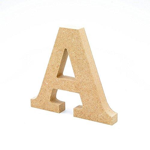 Detalles Infantiles - Letra madera manualidades 20cm A