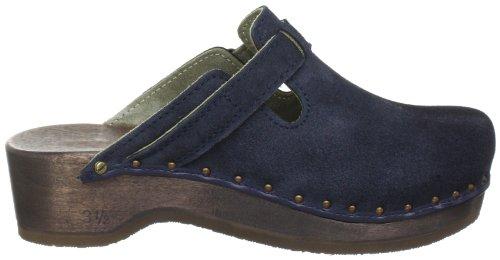 Berkemann Riemen-Toeffler Unisex-Erwachsene Clogs Blau (blau 396)