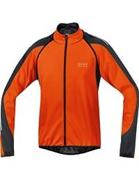 Gore Wear Phantom 2.0 Windstopper Soft Shell Chaqueta, Hombre, (Blaze Orange/Black