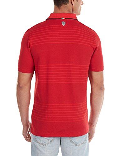 Puma Herren Polohemd Rosso rot - Rosso Corsa