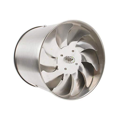 EtexFan Abluftventilator 100 mm Effiziente Belüftung, Für Bad, WC, Büro, Leise, Geringer Energieverbrauch, Rostfreier Stahl