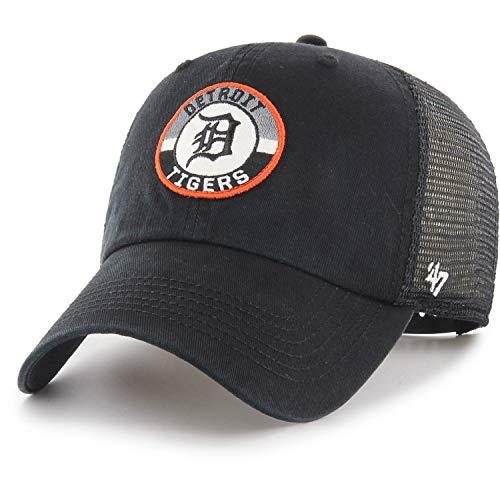 47 Brand Detroit Tigers Porter Clean Up Cap - Black