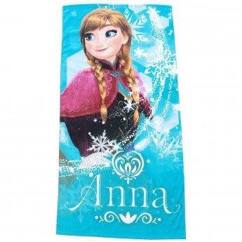 Disney frozen - telo mare anna asciugamano spiaggia in cotone spugna 70x140