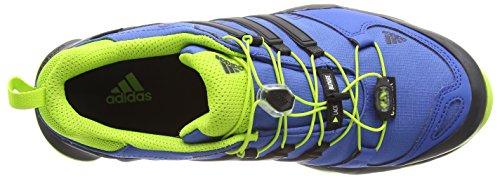 adidas Herren Terrex Swift R Gtx Trekking-& Wanderhalbschuhe Blau (Eqt Blue S16/Core Black/Eqt Green S16)