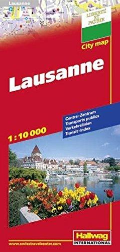 Lausanne Citymap: HAL.CM.130