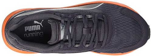 Puma Descendant V3, Chaussures de Running Entrainement Homme Periscope/Black/Orange