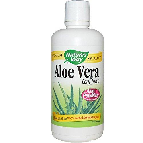 Nature's Way, Aloe Vera, Whole Leaf Juice, 33,8 Flüssigunzen (1 Liter)