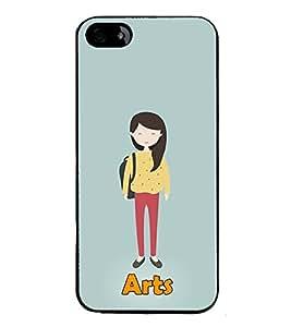 Fiobs Designer Back Case Cover for Apple iPhone 4 (Awards Ar Artistic Owl Birld Dance Singer)