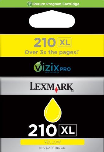 Preisvergleich Produktbild LEXMARK Nr.210XL PB Tinte für Pro4000 Pro5500, 1600 Seiten, gelb