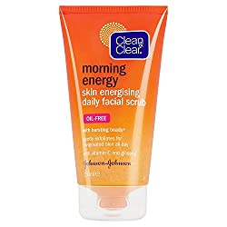 Clean & Clear Morning Energy Skin Energising Daily Facial Scrub, Oil-Free - 150ml