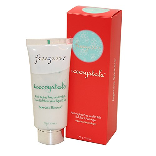 Freeze 24/7 icecrystals anti-âge prep and polish exfoliant 2,5 oz/75 ml