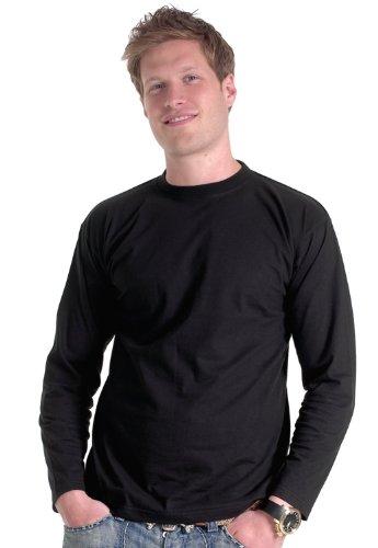 Uneek clothing -  Maglia a manica lunga  - Uomo Bianco