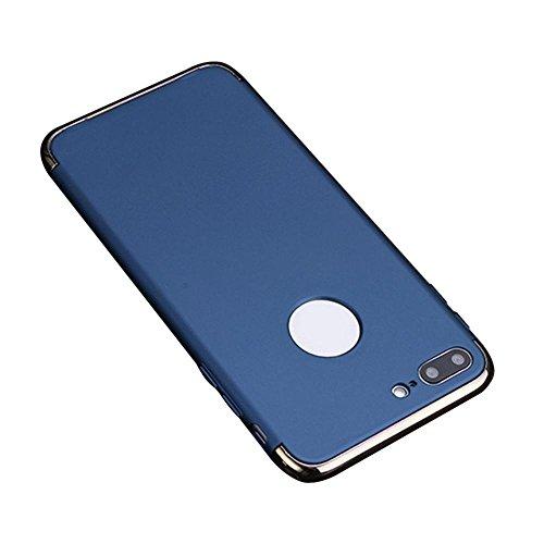 Preisvergleich Produktbild IPhone 7 Plus Hülle, 3 in 1 Ultra Dünner Harter Anti-Kratzer Stoßfestes Elektrodengestell mit Beschichteter Oberfläche Ausgezeichneter Griff-Fall für Apple IPhone 7 Plus
