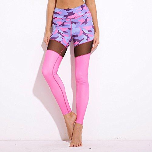❤️ Leggings Donna ❤️- Beautyjourney Womens Sports Yoga Workout Gym Leggings Pantaloni tuta abbigliamento sportivo, Le Donne Di Moda Allenamento Leggings Donna Sportive Fitness Leggings Rosa caldo