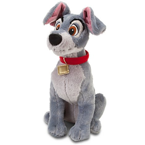 "Official Disney Merchandise Lady and the Tramp medium plush (Tramp 16"")"