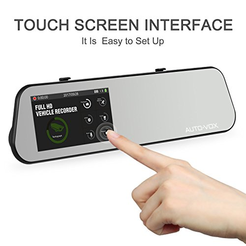 auto vox m6 r ckfahrkamera mit r ckspiegel monitor dash. Black Bedroom Furniture Sets. Home Design Ideas
