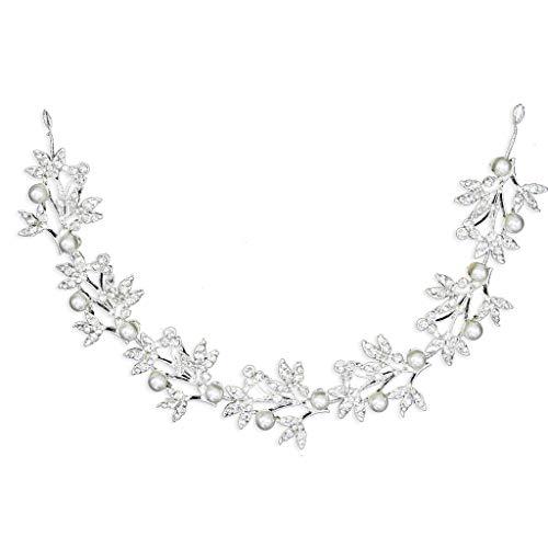DQANIU ❤️❤️ Bridal Supplies, Bridal Headdress - Hochzeit Brautjungfer Haarschmuck Crystal Pearl Flower Haarnadel Clip Kamm