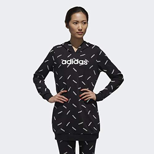 adidas Originals AOP Kapuzenpullover Damen schwarz/weiß, M