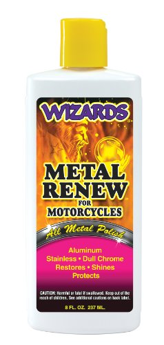 Metal Renew Liquid Polish, 8 oz Bottle, for All Metals, Fast Cut, High Gloss  available at amazon for Rs.2256