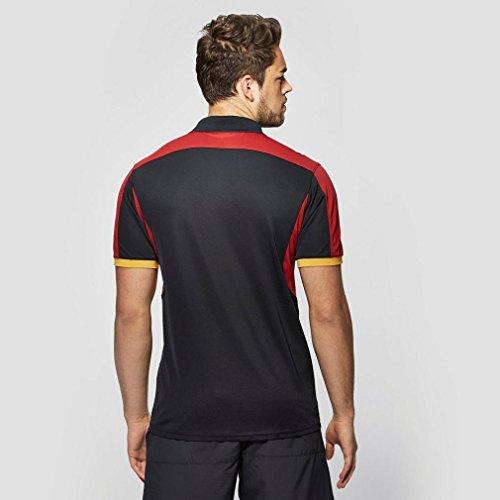 2015-2016 Wales Rugby WRU Polo Shirt (Black) Black