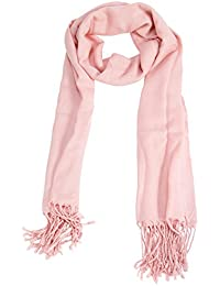 Womens Summer Retro Tassel Fringed Plain Neck Wrap Shawl Scarf Scarves Headscarf