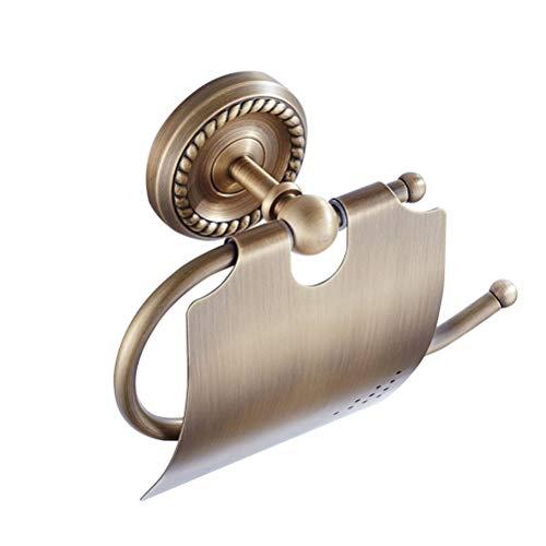 Yardwe Metall Papierhalter Vintage Toilettenpapierhalter Papierrollenhalter Toilettenpapierhalterung für Hotel WC Badzimmer Küche Toiletten - Hotel Wc Papierhalter
