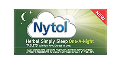 Nytol Herbal Simply Sleep One A Night Tablets, 21-Count : everything £5 (or less!)