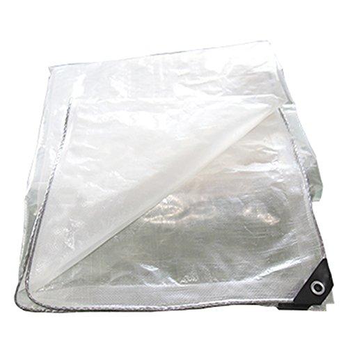 Zelte Outdoor Abdeckung Film Papierregensichere Tuch-Plane Fleischige Sonnenschutz-Abdeckung Transparente Tuch-Plastikplane (größe : 10x10m)