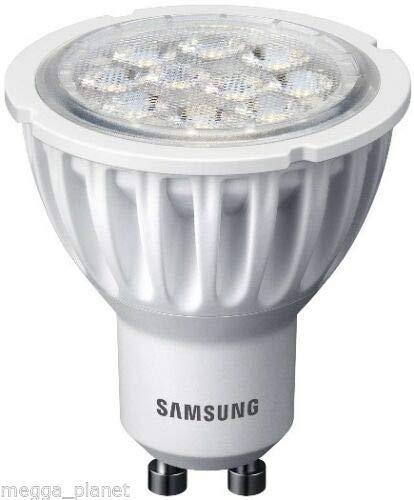 Ansi-lampen-birnen (5 x Samsung Reflektor LED PAR16/GU10 40 Grad Abstrahlwinkel Lampe/Birnen 4,6W = 35W ersetzt 310LM Warmweiß 2700K [Energieklasse A])