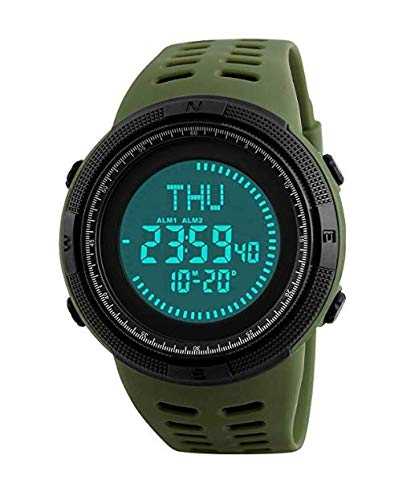 Reloj Deportivo Digital para Hombre, Pantalla OLED, Militar, de Supervivencia, Resistente al Agua, Reloj...