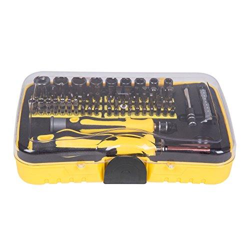 Babimax Schraubendreher Set 70 Schraubenzieher Werkzeugkoffer Stahl Haushalt Elektriker Techniker