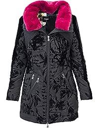 Amazon.it  desigual abbigliamento donna - Cappotti   Giacche e ... 9fa150adf77