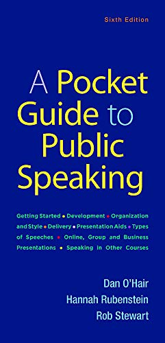 A Pocket Guide to Public Speaking por Dan O'Hair