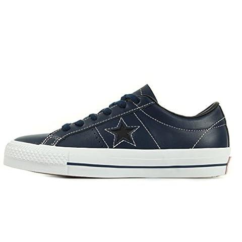 Converse One Star Skate Ox Navy Pink 149869C, Basket -