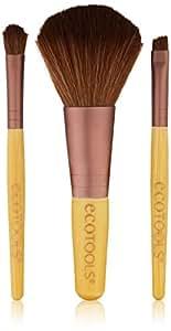 Ecotools Ensemble de 3 mini pinceaux de maquillage