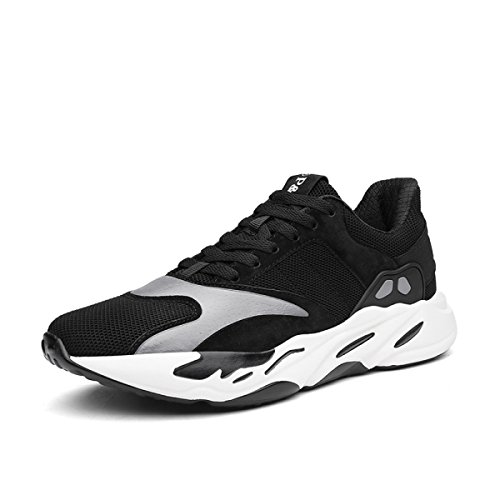 POSEDO Hommes Casual Fashion Anti-laine Sports Chaussures Running Chaussures Formation Fitness Cushioning Semelles