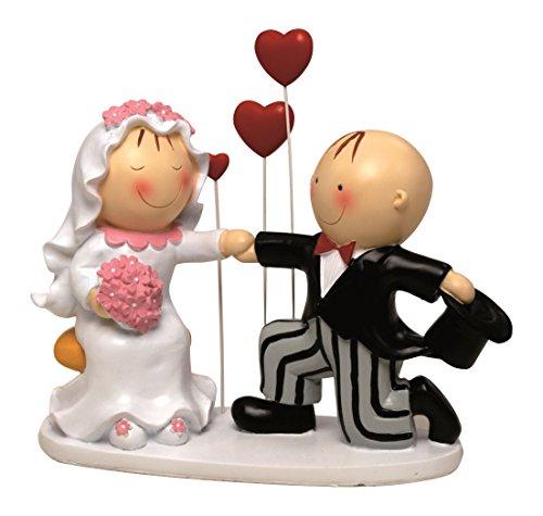 Mopec Cake Figure Couple of Boyfriends Pit & Pita Statement, Broken White