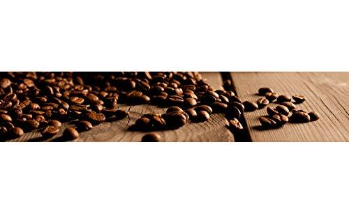 Küchenrückwand Folie selbstklebend Kaffee-Bohnen Klebefolie in verschiedene Größen | Fliesenspiegel | Dekofolie | Spritzschutz | Küche