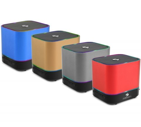 6539e8dcb25 Zebronics Dice Portable Bluetooth Speakers (with Selfie Button) (Color May  Vary). Bluetooth wireless connectivity