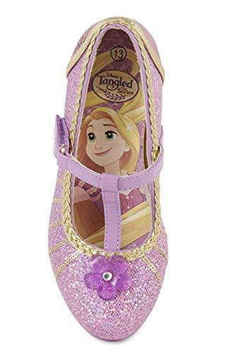 Disney Girls Tangled Mary Jane Shoes (2 Little Kid) (Disney Tangled Schuhe)