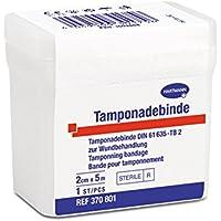 HARTMANN Tamponadebinden st 2 cm x 5 m, 1 Binde preisvergleich bei billige-tabletten.eu