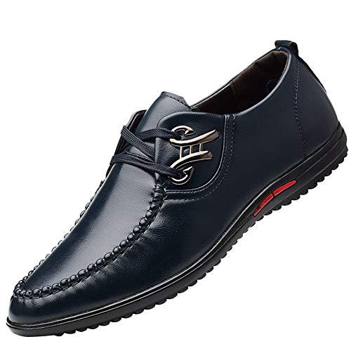 PU Pelle Mocassini Uomo Estivi Pantofole Casual Eleganti Slip On Scarpe da Guida Scarpe da Barca Classic Loafers Sneakers Nero,Marrone,Blu(38-45)