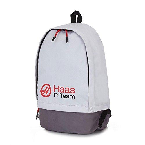 Haas American Team Formula 1 Motorsport Rucksack Grau