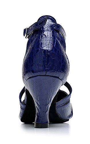 TDA , Sandales Compensées femme 6cm Heel Blue
